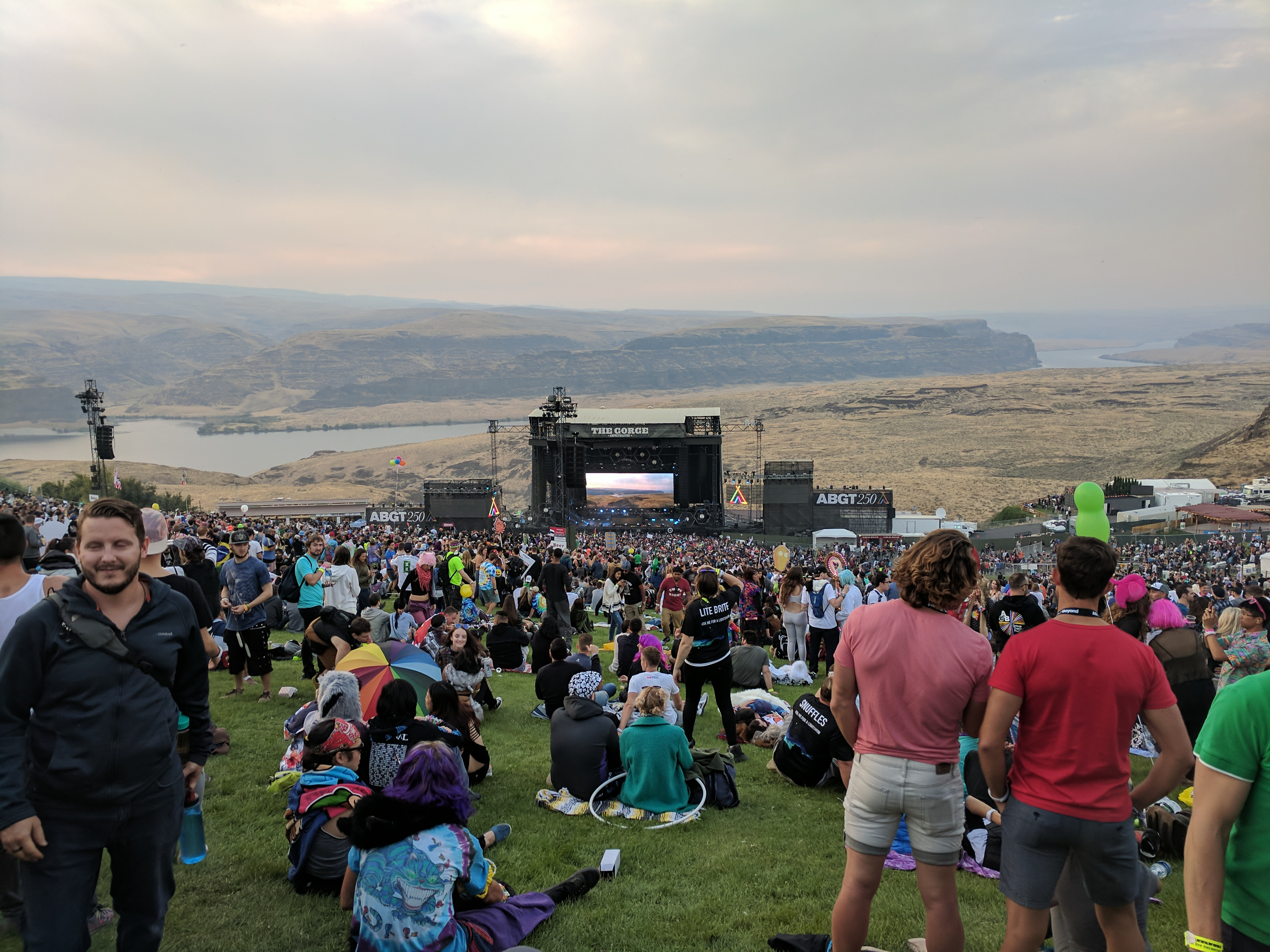 The Gorge Amphitheatre for ABGT250